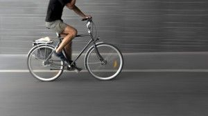 cyclist on black bike   Bicycle Injuries Are on the Rise for Adults in the US, Especially Men