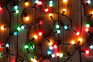 Christmas colorful lights | Five Most Common Holiday Season Personal Injuries