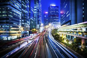 Hong Kong city night scenes | Will Technology Really Make Us Better Drivers?