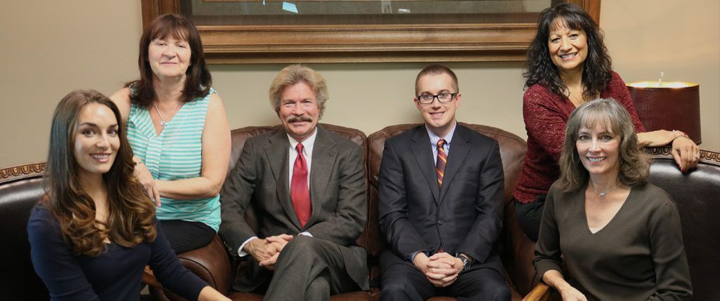 The staff of Paysinger Law, P.C., a family-run personal injury and car accident law firm in Lakewood, Colorado