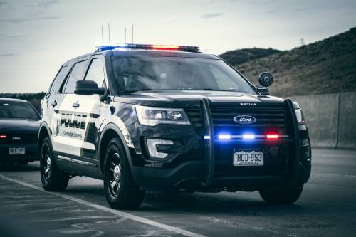colorado police ford utility vehicle | human cheese grater