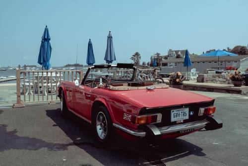 red vintage convertible vehicle | are convertibles less safe than nonconvertibles